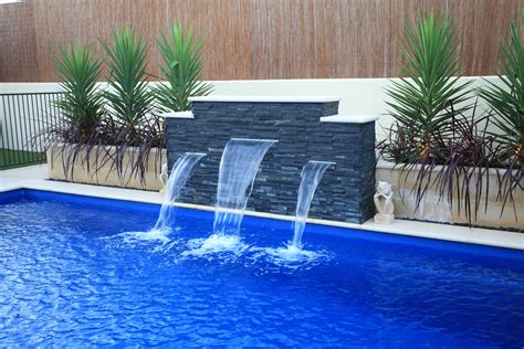 Red Kitchen Hutch - cascade swimming pools cascades pool 2017 with water feature ideas inspirations artenzo