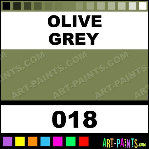 olive grey colours acrylic paints 018 olive grey paint olive grey color caran d ache