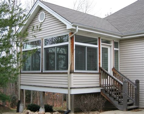 outdoor screen rooms glass or screening allows you to j j siding and window sales inc glass and screen rooms