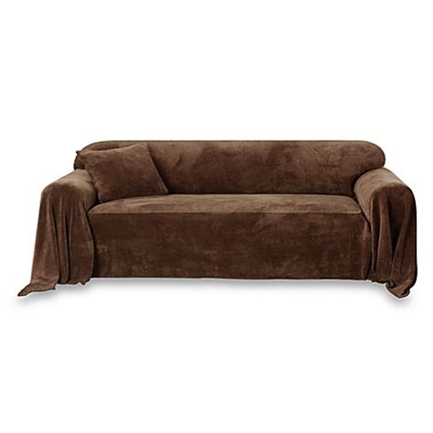 sofa throw cover buy sofa cover throw from bed bath beyond