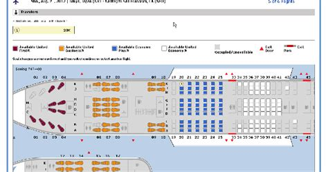 emirates reservation check your seat assignment now flyertalk forums