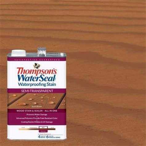 thompsons waterseal  gal semi transparent acorn brown