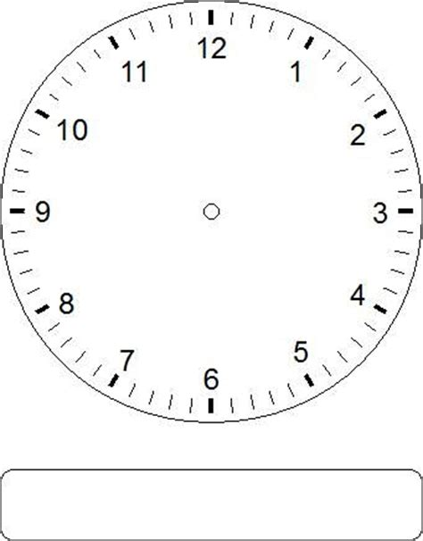 printable analog clock with minutes blank clock faces clock faces clock and faces