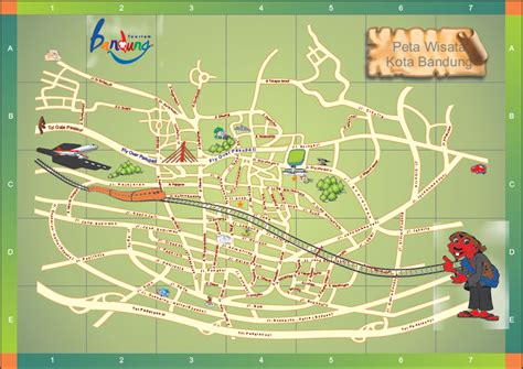 mataroni peta wisata bandung