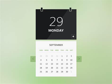 calendar ui free vector 365psd com