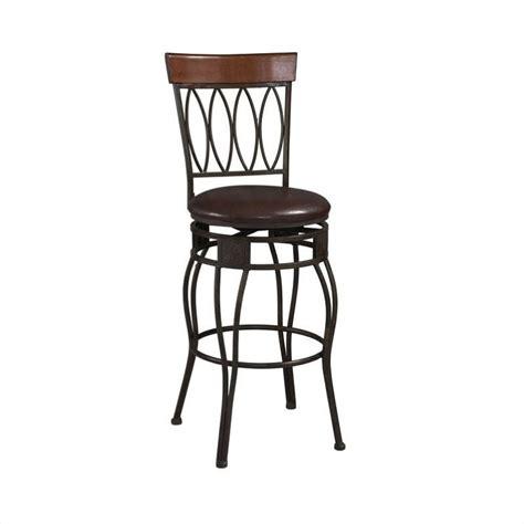 24 quot back counter stool in matte bronze 02562mtl 01 kd u