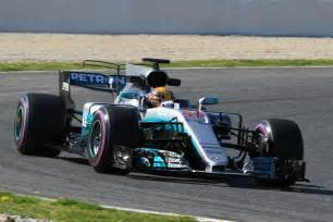 Mercedes F1 Mercedes F1 Test Stats Ahead Of The Pack