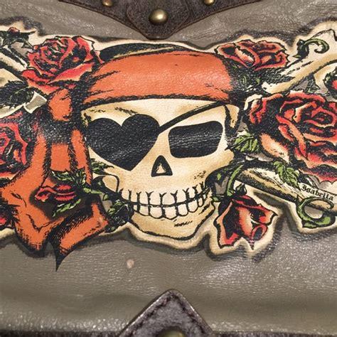 Fiore Skull Boots by 58 Fiore Handbags Fiore Skull