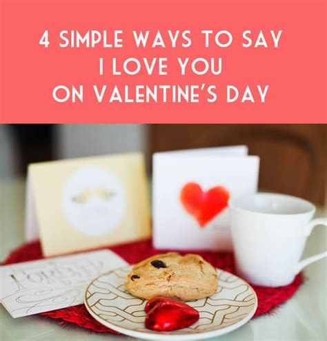 50 ways to say i you valentines day gifts for or valentines day gifts for him boyfriend or husband books 4 simple ways to say i you on s day