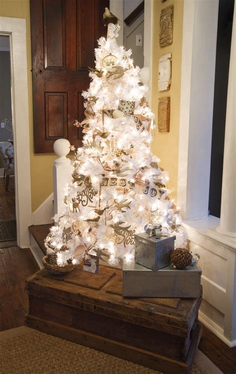 decorated white tree ideas 30 classic white vintage decoration ideas