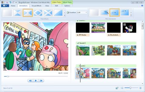 windows movie maker effects tutorial creating movies with windows live movie maker part 2