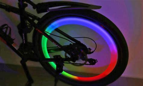 Bicycle Wheel Led Light Yellow led bicycle wheel light groupon
