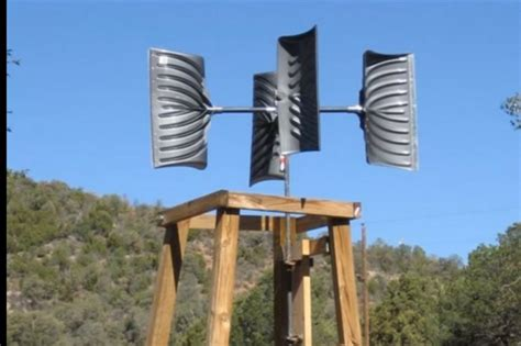 12 creative diy wind generator and vawt designs