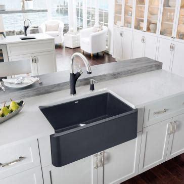 30 apron front sink blanco 401734 ikon 30 quot apron front sink
