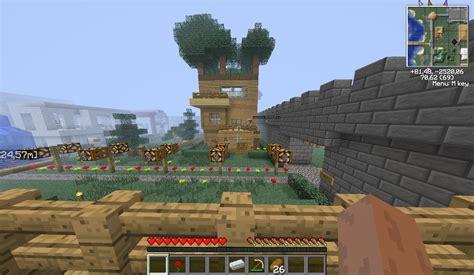 membuat rumah pohon minecraft yosukehunter minecraft highly addictive