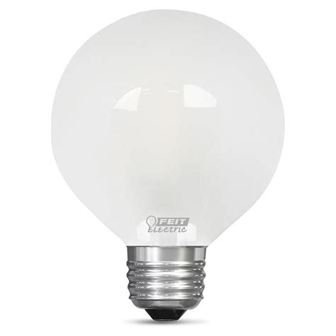 60 Watt Light Bulb Led Equivalent Feit Electric 60 Watt Equivalent Soft White G25 Dimmable Led Light Bulb Bpg2560 F 827 Led