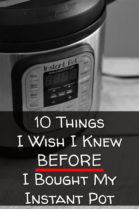 instant pot worth it 10 things i wish i knew before