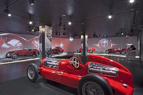 Alfa Romeo Museum by Alfa Romeo Reopens Its Official Museum To The