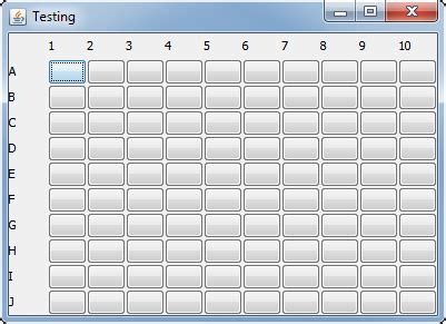 spacing in gridlayout java jpanel gridlayout filled partially by loop adds