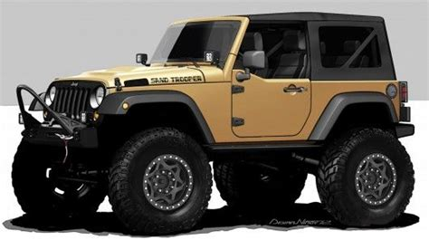 Cool Jeep Wrangler Ideas Jeep Wrangler Sand Trooper Has 375hp And 410 Ft Lbs Tq