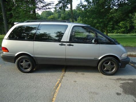 how to sell used cars 1995 toyota previa spare parts catalogs sell used 1995 toyota previa le mini passenger van 3 door 2 4l in arleta california united