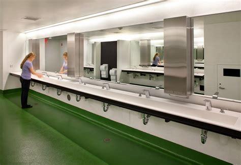 stadium bathrooms stadium renovation part 2