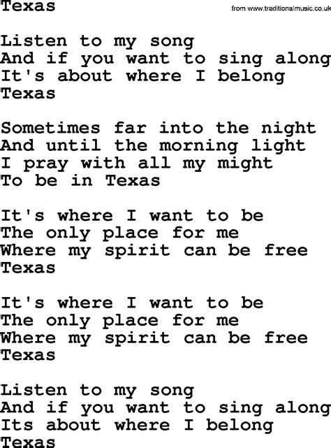 song lyrics willie nelson willie nelson song lyrics