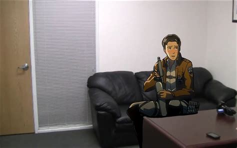 american casting couch casting couch marco bold attack on titan shingeki no