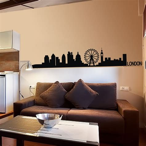 home decor europe ᗜ Lj london skyline wall decal ᗔ cute cute vinyl wall