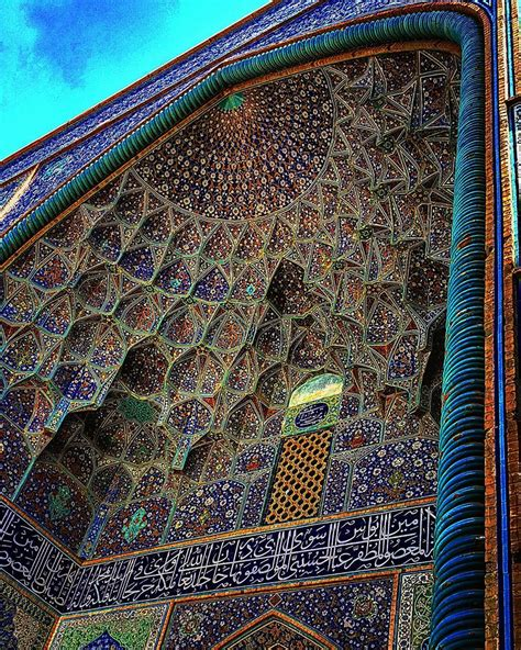 iran in photographer documents the architectural details of