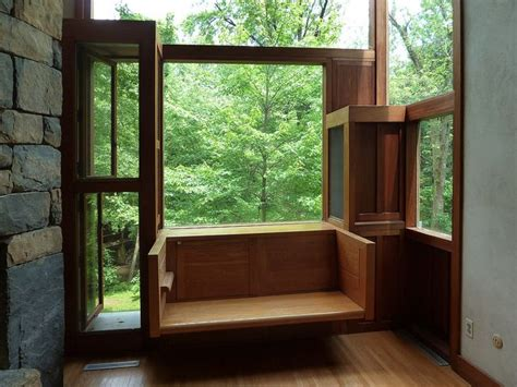 fisher house window seat detail fisher house louis i kahn architect