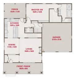 Craftsman style house plan 4 beds 3 5 baths 2265 sq ft plan 461 39