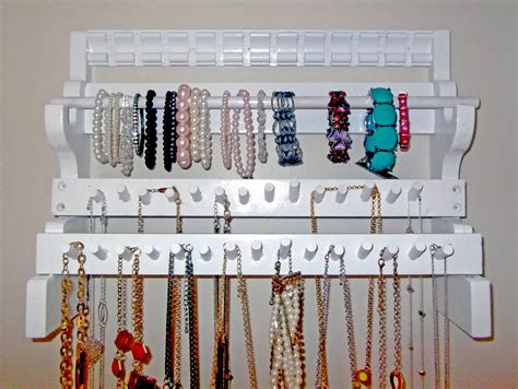 How To Make A Hanger Holder - jewelry organizer hanger