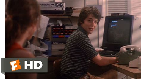 film hacker abducted into computer wargames 3 11 movie clip shall we play a game 1983
