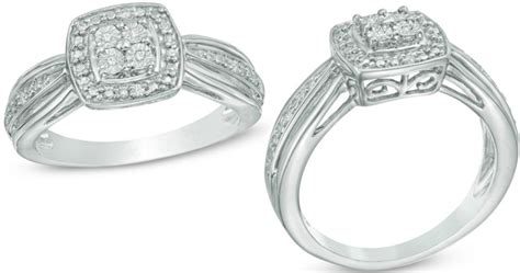zales accent sterling silver promise ring 25 99