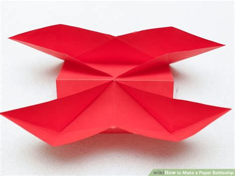 How To Make A Paper Battleship - 3 ways to make a paper battleship wikihow