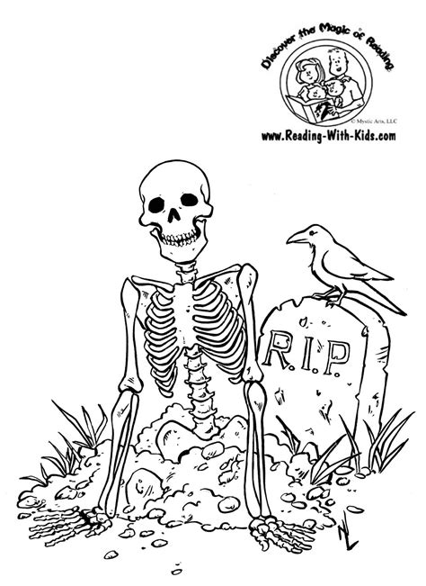 coloring pages of halloween stuff halloween