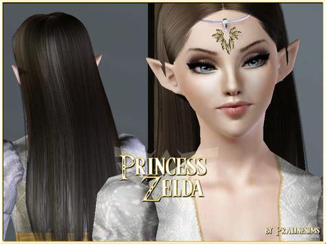 sims 3 princess hair pralinesims princess zelda