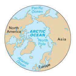 Where Is The Arctic Ocean Located On A World Map by Gallery For Gt Where Is The Arctic Ocean Located