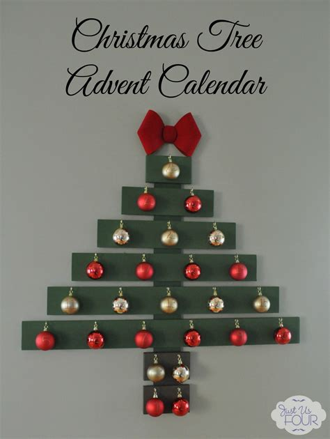 christmas tree advent calendar my suburban kitchen