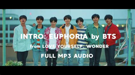 download mp3 bts outro propose intro euphoria full mp3 audio by bts 방탄소년단 download