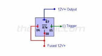 relays diagrams converting polarity