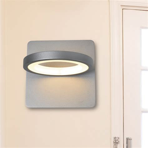 touch activated wall sconce