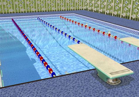 mod the sims toddler month pool lane dividers and