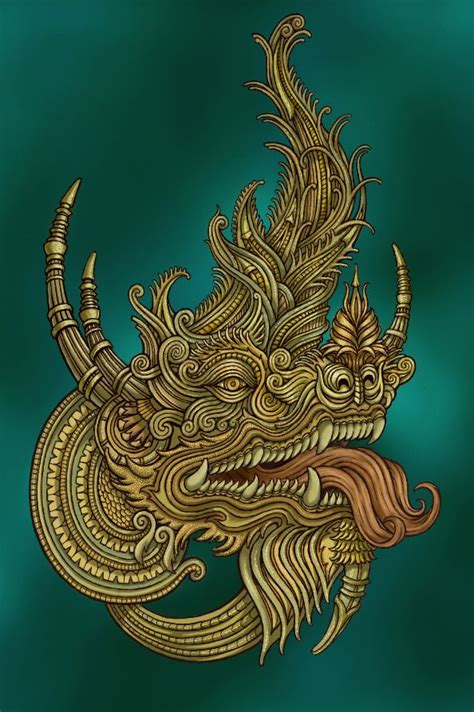 tattoo in naga city thai dragon on behance by leone fortheloveofdragons 2