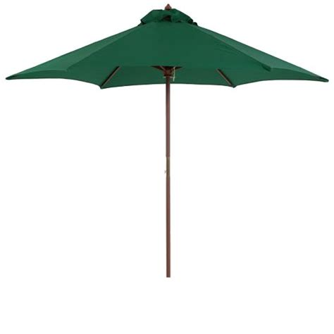 Patio Umbrellas Target 9 Wood Patio Umbrella Green Target