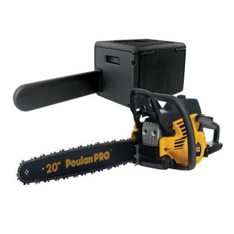 poulan pro 20 in 50 cc gas chainsaw 966055201 the home