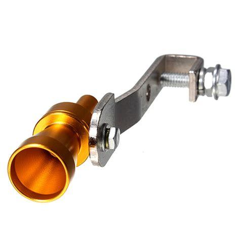 Turbo Whisler Sound Knalpot Ukuran L knalpot pesawat turbo debus palsu pipa katup suara knalpot meledak bovl ukuran s emas lazada