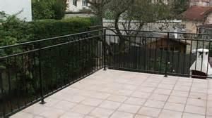 Barriere De Terrasse En Fer