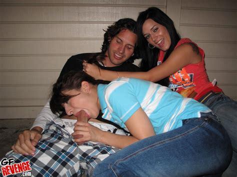 Amateur Threesome Gf Revenge